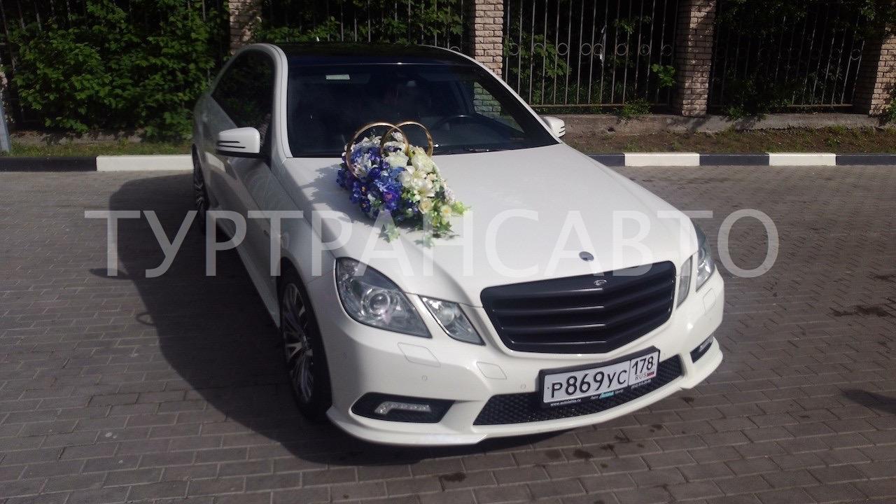 Аренда белого автомобиля на свадьбу